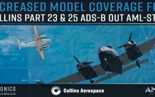COLLINS PART 23 ADS-B OUT AML-STC, AMKA AVIATION