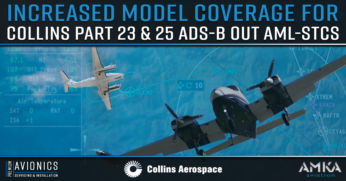 No Need for a Full Avionics Upgrade: Collins Aerospace Expands its Part 23 and 25 Aircraft Models