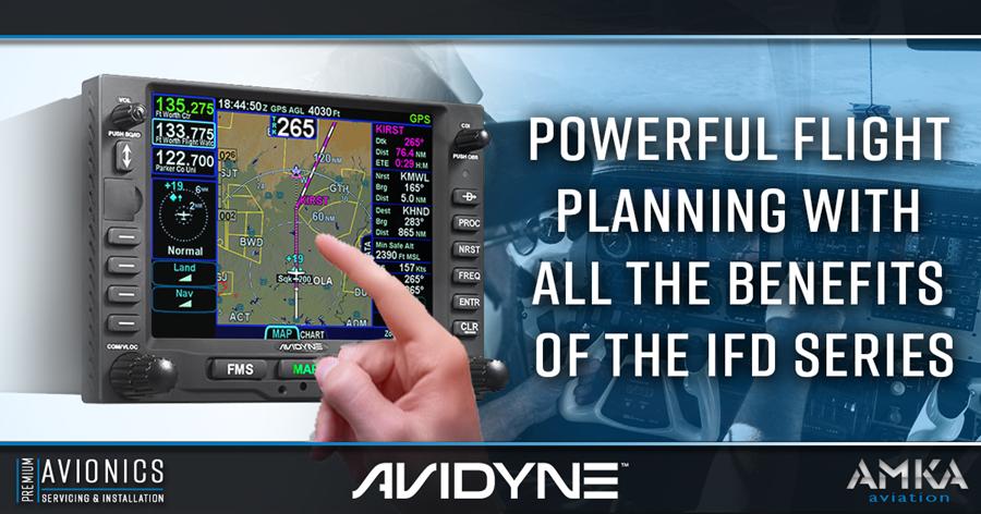 Simplify Your Flight Planning with Avidyne , AMKA Aviation