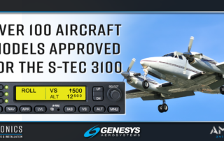 Aircraft Approved For the S-TEC 3100